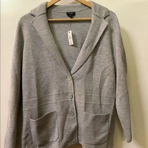 NWT Talbots 1XP Merino Wool Sweater, Jacket